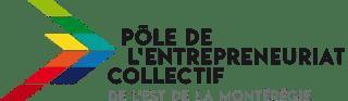 Pôle de l'entrepreneuriat collectif de l'est de la Montérégie Logo